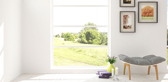 Right to Light Insurance: Inside a room with a window that is letting a lot of light in.
